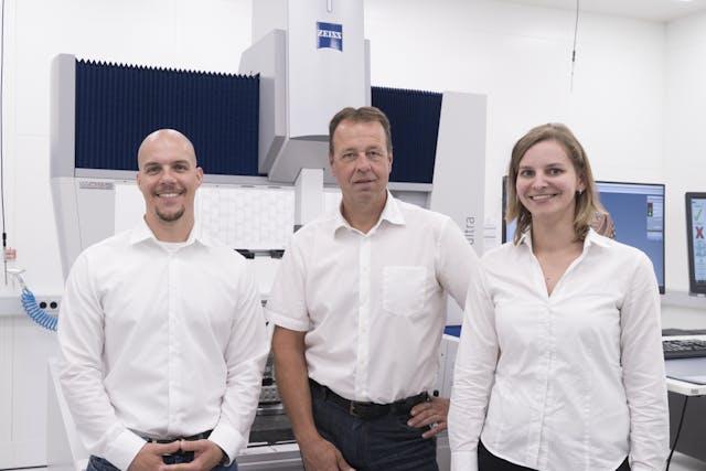 千亿平台TEMPAR傳感器可監測溫度 保證三座標高精度