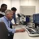 Wissenschaftler in Sydney untersuchen Krebsgewebe