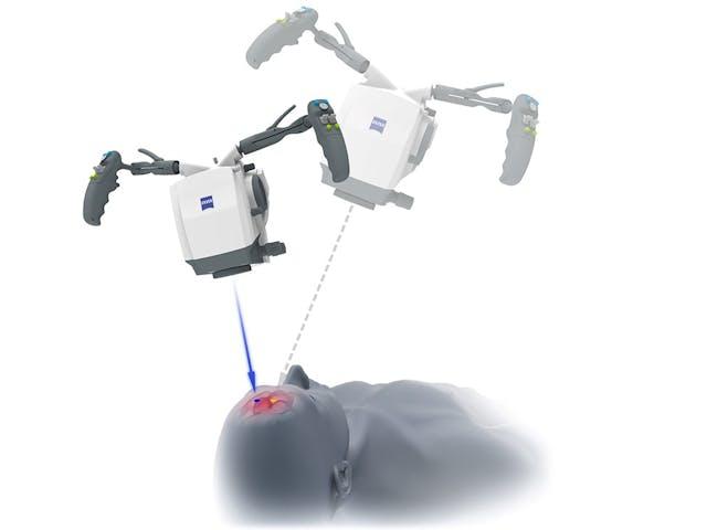 Logre más precisión reposicionando el sistema robotizado de visualización