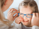Select a good lens coating when buying children's glasses, because small scratches and reflections also damage young eyes.