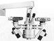Operationsmikroskope mit 5-fach-Zoomsystem, mit kontinuierlicher Vergrößerungsänderung über den Gesamtbereich.