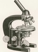 The famous L-stand becomes the standard for microscope design