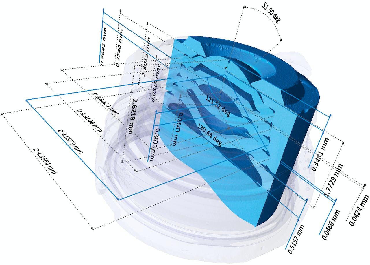 蔡司高分辨率X射线显微镜与高精度测量的结合Xradia Versa