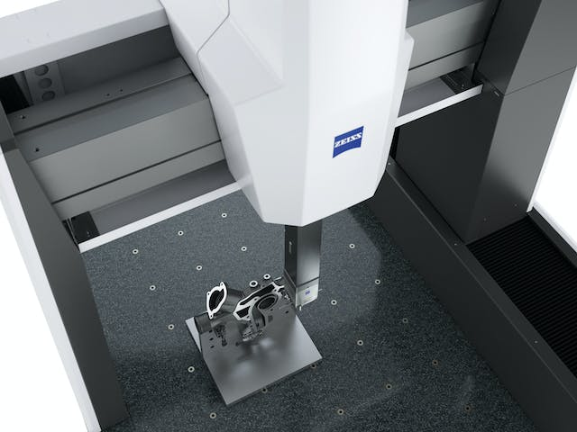 ZEISS CONTURA comes with a fixed passive sensor, the flexible RDS articulating probe holder or with an active scanning probe