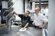 Carsten Göbel and Harald Wilke discuss the measurement of a rotor on the ZEISS MMZ in the GEA Refrigeration Germany measuring lab