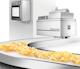 Corona process with potato chips