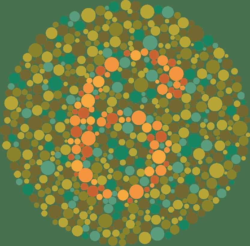 Rot Grün Schwäche Rot Grün Blindheit Und Farbenblindheit