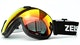 Better contrast vision, less glare. The optimum coating for your snow goggles.