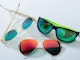 Sunglasses for water sports (mid-range to high light intensity)